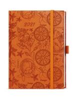 Týdenní diář Prokop-vivella Extra - B6, oranžová, pomeranč