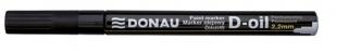 Lakový popisovač Donau D-oil - 2,2 mm, černý