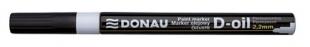 Lakový popisovač Donau D-oil - 2,2 mm, bílý