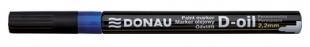 Lakový popisovač Donau D-oil - 2,2 mm, modrý