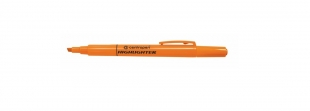 Zvýrazňovač Centropen Highlighter 8722 - klínový hrot, 1-4 mm, oranžový