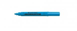 Zvýrazňovač Centropen Highlighter 8552 - klínový hrot, 1-4,6 mm, modrý