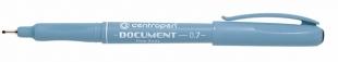 Dokumentní liner Centropen Document 2631 - 0,7 mm, černý