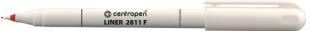 Mikrofix Centropen Liner 2811 F - 0,3 mm, červený