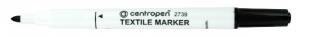 Popisovač na textil Centropen Textile Marker 2739 - 1,8 mm, černý