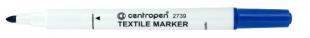 Popisovač na textil Centropen Textile Marker 2739 - 1,8 mm, modrý