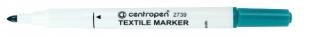 Popisovač na textil Centropen Textile Marker 2739 - 1,8 mm, zelený
