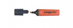 Zvýrazňovač Edding Highlighter 345 - klínový hrot, 2-5 mm, oranžový