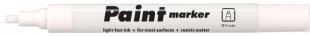 Lakový popisovač Centropen Paint Marker 9100 - klínový hrot, 1-5 mm, bílý