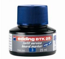 Náhradní inkoust do tabulových popisovačů Edding BTK 25 - modrý, 25 ml