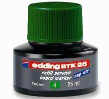 Náhradní inkoust do tabulových popisovačů Edding BTK 25 - zelený, 25 ml