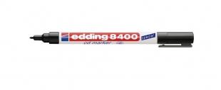 Permanentní popisovač Edding CD/DVD/BD 8400 - 0,5-1 mm, černý