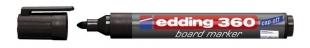 Popisovač na bílé tabule Edding 360 - 1,5-3 mm, černý