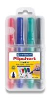 Popisovač Centropen Flipchart Marker 8550/4 - 2,5 mm, sada 4 ks