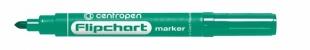 Popisovač Centropen Flipchart Marker 8550 - 2,5 mm, zelený