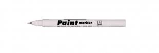 Lakový popisovač Centropen Paint Marker 9211 - 0,7 mm, bílý