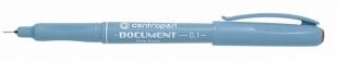 Dokumentní liner Centropen Document 2631 - 0,1 mm, červený
