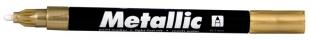 Lakový popisovač Centropen Metallic 9220 - 1,5 mm, zlatý