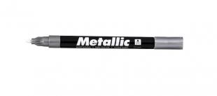 Lakový popisovač Centropen Metallic 9220 - 1,5 mm, stříbrný