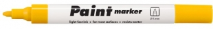 Lakový popisovač Centropen Paint Marker 9100 - klínový hrot, 1-5 mm, žlutý