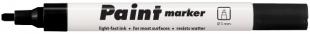 Lakový popisovač Centropen Paint Marker 9100 - klínový hrot, 1-5 mm, černý