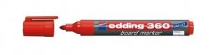 Popisovač na bílé tabule Edding 360 - 1,5-3 mm, červený