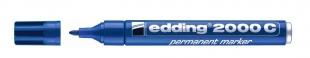 Průmyslový permanentní popisovač Edding 2000 C - 1,5-3 mm, modrý