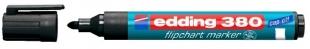 Popisovač Edding Flipchart Marker 380 - 1,5-3 mm, černý