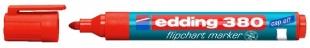 Popisovač Edding Flipchart Marker 380 - 1,5-3 mm, červený