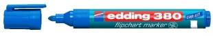 Popisovač Edding Flipchart Marker 380 - 1,5-3 mm, modrý