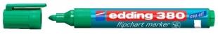 Popisovač Edding Flipchart Marker 380 - 1,5-3 mm, zelený