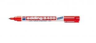 Permanentní popisovač Edding CD/DVD/BD 8400 - 0,5-1 mm, červený