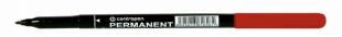 Permanentní popisovač Centropen 2536 - 1 mm, červený