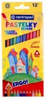 Pastelky Centropen 9520/12 - šestihranné, 12 barev