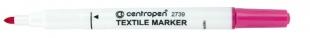 Popisovač na textil Centropen Textile Marker 2739 - 1,8 mm, růžový