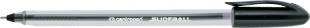 Jednorázové kuličkové pero Centropen Slideball 2215 - jehlový hrot, 0,3 mm, černý