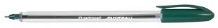 Jednorázové kuličkové pero Centropen Slideball 2215 - jehlový hrot, 0,3 mm, zelený