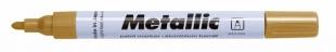 Lakový popisovač Centropen Metallic 9210 - 1,5-2,5 mm, zlatý