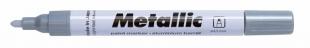 Lakový popisovač Centropen Metallic 9210 - 1,5-2,5 mm, stříbrný