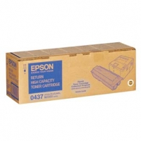 Epson originální toner C13S050437, black, 8000str., return, Epson AcuLaser M2000D, 2000DN, 2000DT, 2000DTN