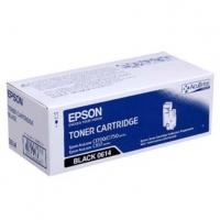 Epson originální toner C13S050614, black, 2000str., high capacity, Epson Aculaser C1700