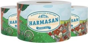 Toaletní papír Harmasan - dvouvrstvý, recykl, návin 69 m, 20 rolí