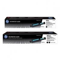 HP originální Neverstop Toner Reload Kit W1103AD, black, 5000 (2x2500)str., HP 103AD, HP Neverstop Laser MFP 1200, Neverstop Laser
