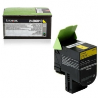 Lexmark originální toner 24B6010, yellow, 3000str., 24B6010, high capacity, Lexmark C 2132