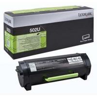 Lexmark originální toner 50F2U00, black, 20000str., 502U, return, ultra high capacity, Lexmark MS510DN, 610DE, 610DN, 610DTE