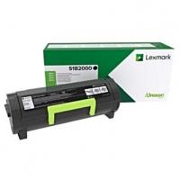 Lexmark originální toner 51B2000, black, 2500str., Lexmark MS317, MX317