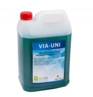 Profesionální mycí a čistící prostředek na nádobí a podlahy VIA-UNI - 10 l