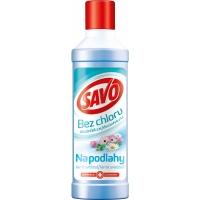 Čistící dezinfekční prostředek na podlahy Savo bez chloru - jarní svěžest, 1 l