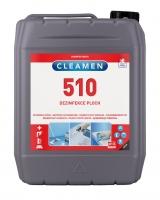 Čistící a dezinfekční prostředek Cleamen 510 - do potravinářských provozů, 5 l