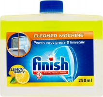 Čistící prostředek do myčky Finish Dual Action - lemon, 250 ml